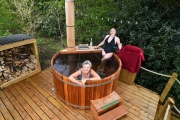 Glamping holidays in the Peak District, Derbyshire, Central England - Upper Hurst Farm