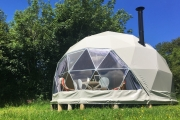 Glamping holidays in Pembrokeshire, South Wales - Top of the Woods