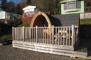 Glamping holidays in Perthshire, Northern Scotland - Corriefodly Holiday Park