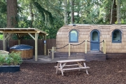 Glamping holidays in Perthshire, Northern Scotland - Culdees Castle Estate