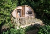 Glamping holidays in Powys, Mid Wales - Celtic Woodland