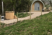 Glamping holidays in Powys, Mid Wales - Rainbow Pods