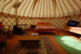 Glamping holidays in Powys, Mid Wales - Valley Yurts