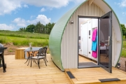 Glamping holidays in Scottish Borders, Southern Scotland - Air Pods