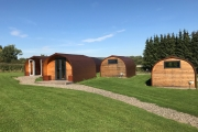 Glamping holidays in Shropshire, Central England - Bleathwood Lodges