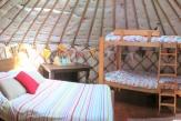 Glamping holidays in Shropshire, Central England - Fordhall Farm Yurts