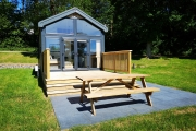 Glamping holidays near Snowdonia, North Wales - Coed Helen Holiday Park