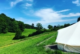 Glamping holidays in Somerset, South West England - Glastonbury Valley