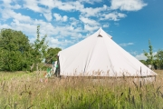 Glamping holidays in North Somerset, South West England - Hedgerow Cottage & Glamping