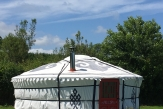 Glamping holidays in South Devon, South West England - Hemsford Yurt Camp