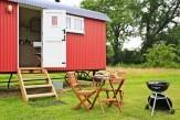 Glamping holidays in Suffolk, Eastern England - Boundary Farm Shepherd Huts