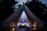 Glamping holidays in Wiltshire, South West England - Chalke Valley Camping