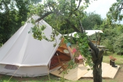 Glamping holidays in Worcestershire, Central England - Plum Tree Glamping
